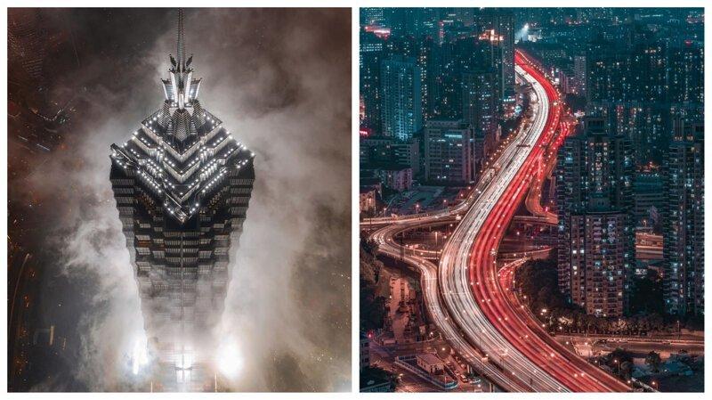 Брутальный Шанхай: потрясающие фотоработы Аарона Шао (31фото)