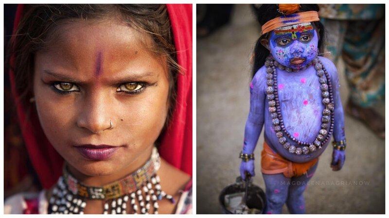 Гипнотические портреты из Индии, от которых невозможно оторвать взгляд (51фото)