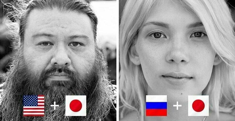 20 снимков представителей хафу - людей с полу-японским происхождением (21фото)