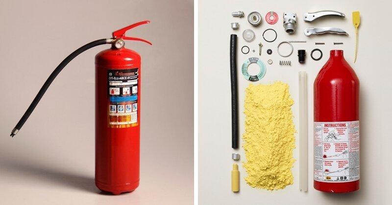 Фотограф разбирает вещи на части и даёт всем желающим заглянуть во внутренности привычных предметов (29фото)