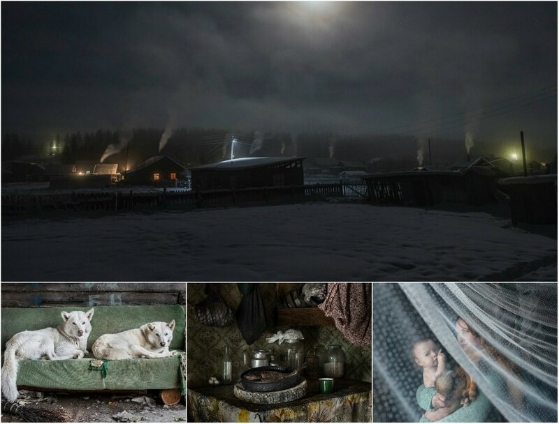 Жизнь далекого таежного поселка на снимках Елены Аносовой (22фото)