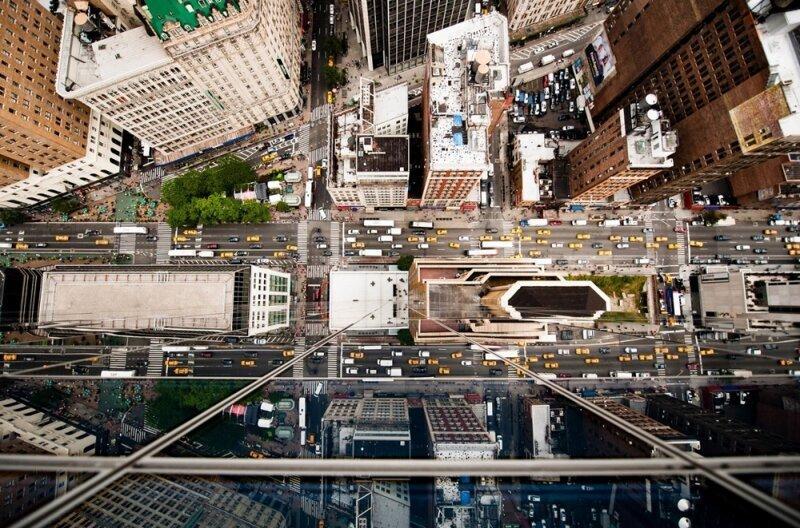 Нью-Йорк сверху на снимках Навида Барати (25фото)