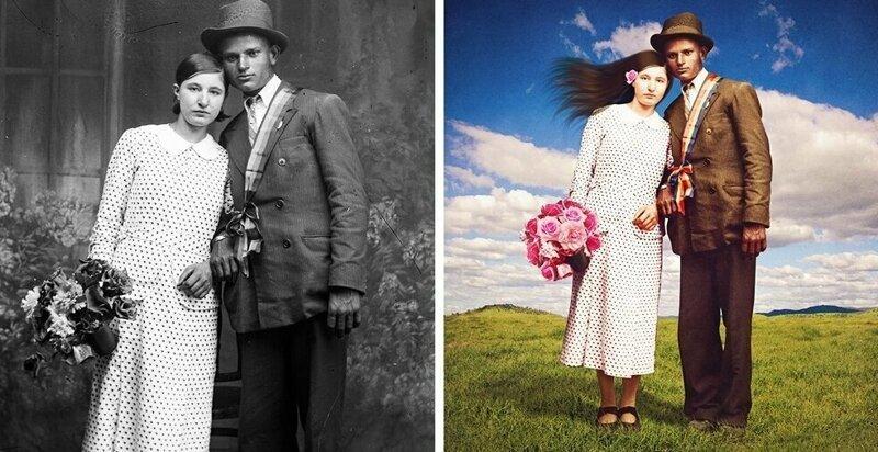 Австралийка отретушировала старые снимки и превратила их в сказочные иллюстрации (33фото)