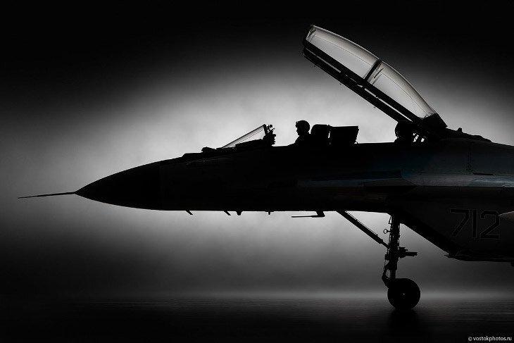 Фотосъемки истребителя МиГ-35 (20фото)