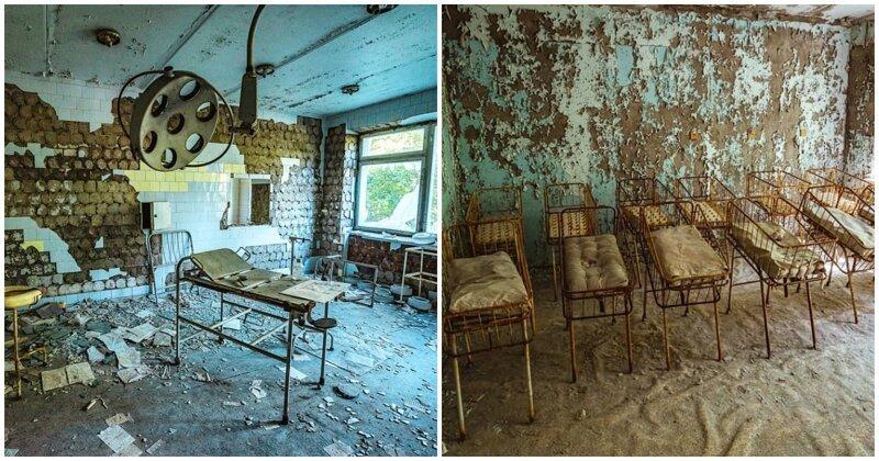 Прогулка по Припяти: заброшенные и пугающие места в объективе фотографа из Праги (19фото)