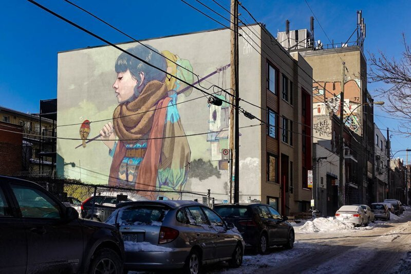Гигантский стрит-арт Монреаля (10фото)