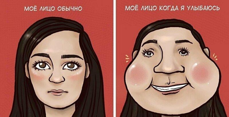 20 комиксов от казахской художницы, которые расскажут о девичьих проблемах лучше всяких слов (24фото)