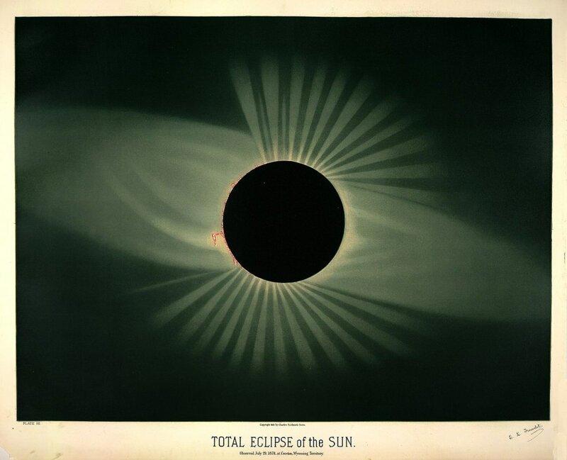 Старинные астрономические рисунки Этьена Трувело (17фото)