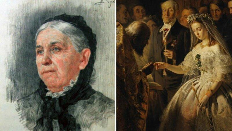 Картина «Неравный брак» Василия Пукирева: кто эта невеста и как сложилась ее судьба (5фото)