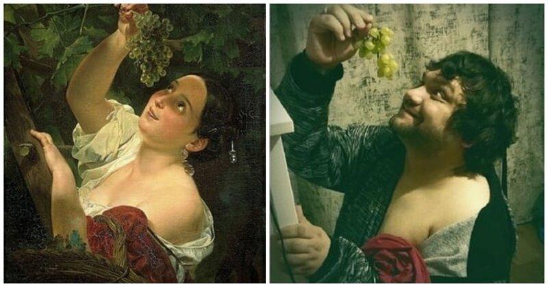 16 пародий на известные произведения, от которых художники прошлого точно бы офигели (17фото)