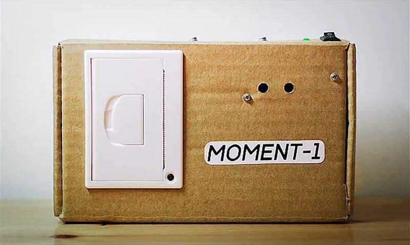 Петербуржец сделал фотоаппарат, печатающий на чеках (2фото)