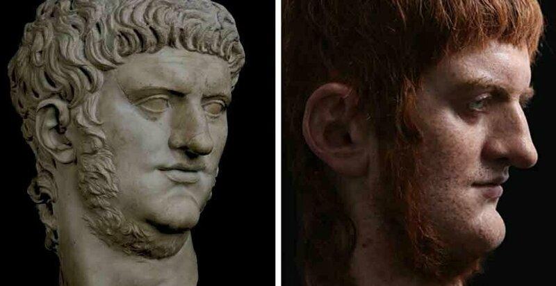 Итальянский скульптор создаёт реалистичные бюсты римских императоров (23фото)