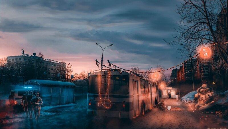 Города в картинах и картинках (33фото)