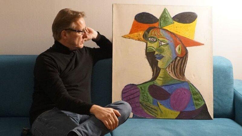 Украденного Пикассо нашли 20 лет спустя (3фото)