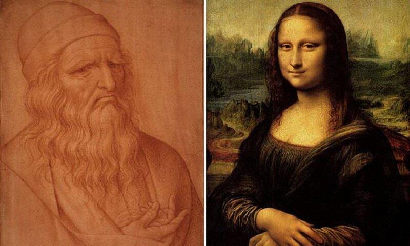 Леонардо да Винчи не окончил портрет Моны Лизы из-за паралича руки? (3фото)
