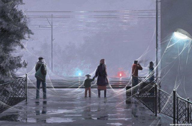 Жестяная живопись художника Алексея Андреева (27фото)