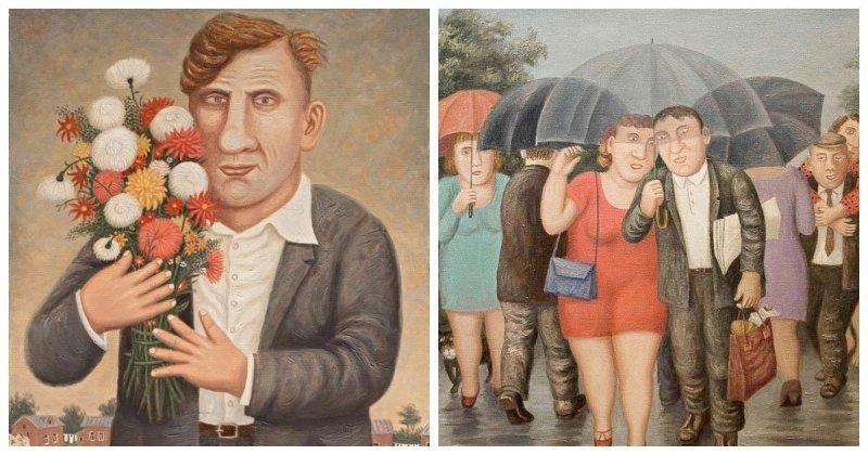 Душевные иллюстрации русского художника, который лучше других понимает простых людей (27фото)