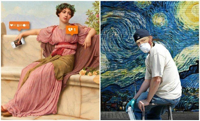 Когда искусство встречается с современным миром: сюрреалистические работы турецкого художника (52фото)