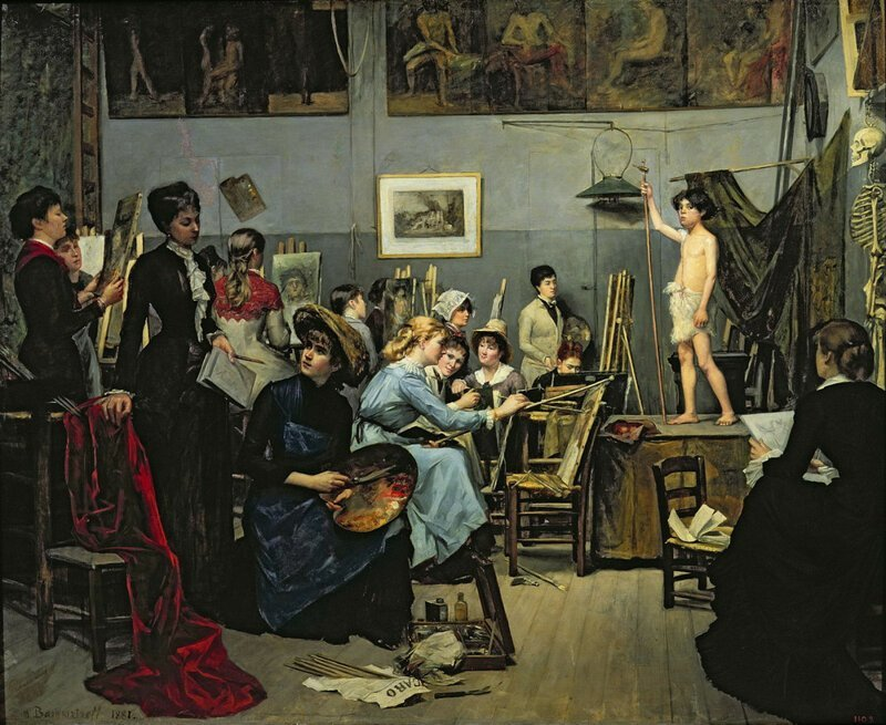 Художницы 19-го века, которые открыли женщинам путь в мир искусства (10фото)