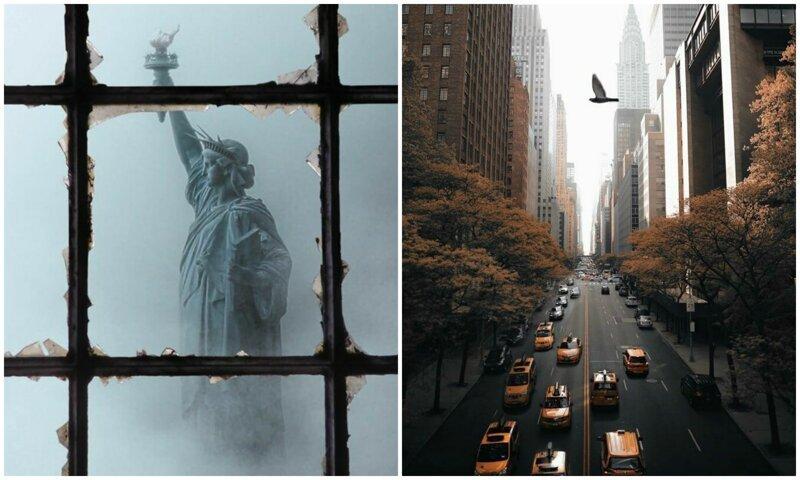 Огни Большого яблока: непривычный взгляд на Нью-Йорк (45фото)