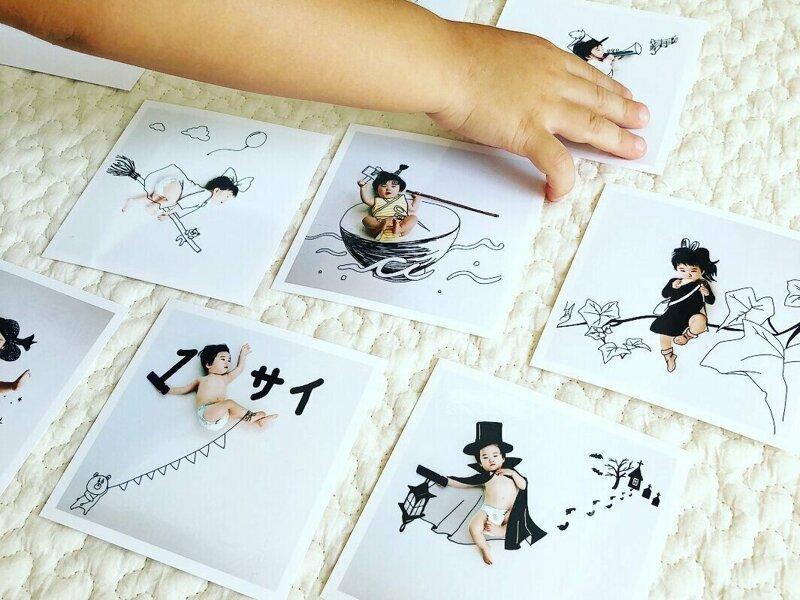 Папа из Японии органично вписывает своих детей в иллюстрации (26фото)