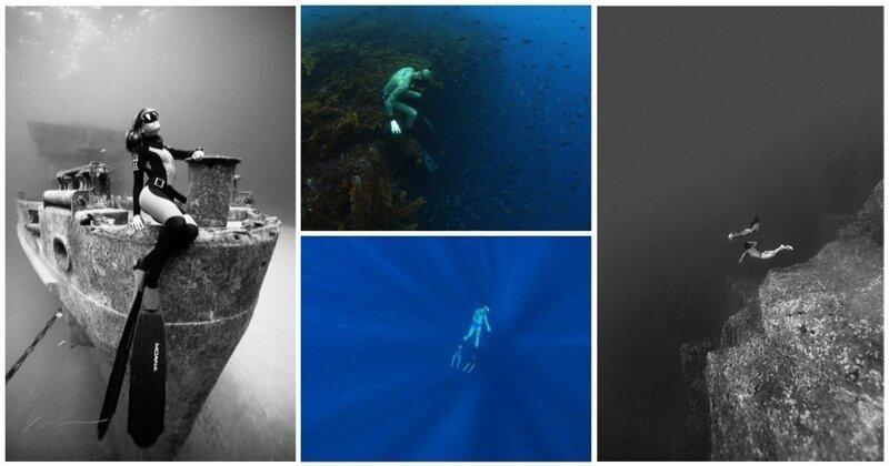 Почувствуй бездну: 25 завораживающих подводных снимков (26фото)