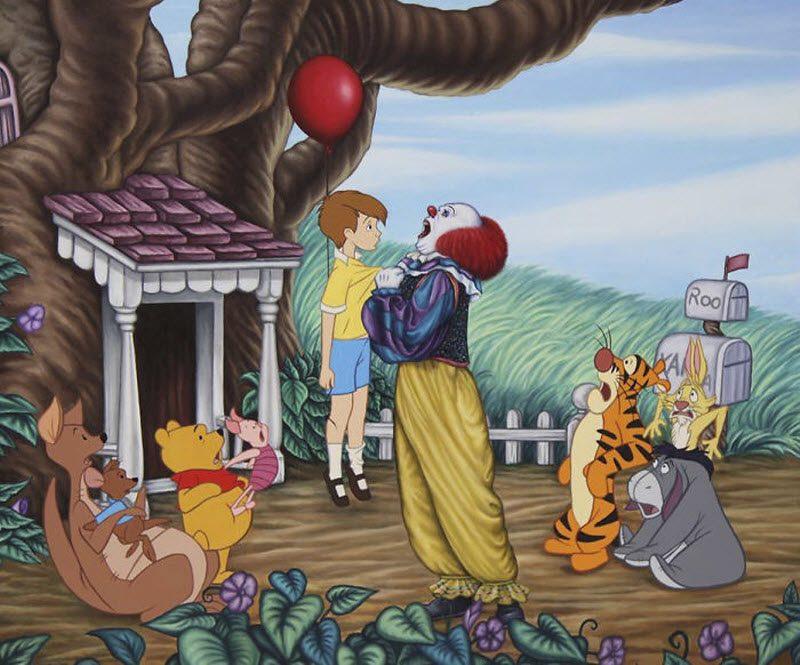 Провокационные иллюстрации персонажей Disney разрушат ваше детство (25 фото)
