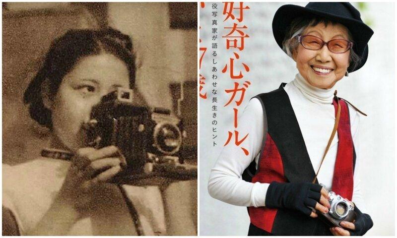 Первая японка-фотограф отметила 101-летие, но продолжает заниматься любимым делом (13фото)