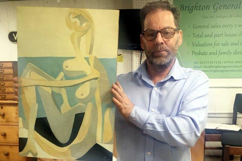 Картина, проданная на барахолке, оказалась ценностью Пикассо (4фото)