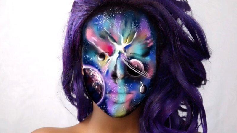Визажистка из Британии умеет создавать на своём лице совершенно потрясающие оптические иллюзии (21фото)