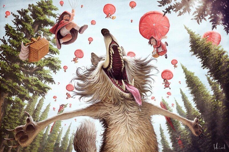 Смешные и милые иллюстрации Тьяго Хойзеля (42фото)
