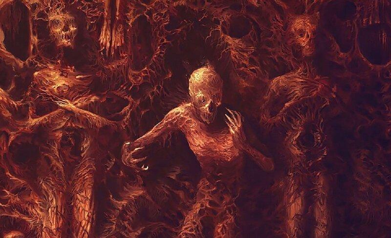 Художник-металлист рисует картины безумия (53фото)