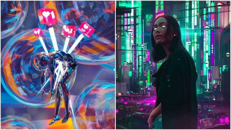 Что мы видим, когда закрываем глаза: цифровое искусство BakaArts (46фото)