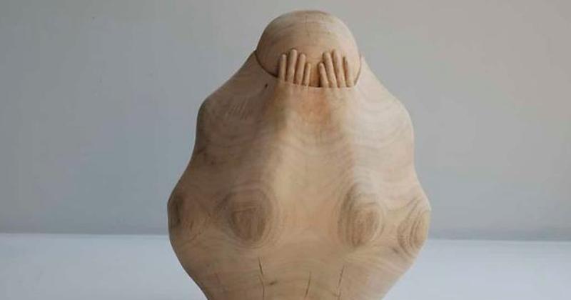Тайваньский скульптор вырезает людские души из дерева (17фото)