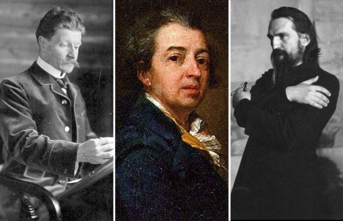 Русские художники, которые потеряли зрение (6фото)