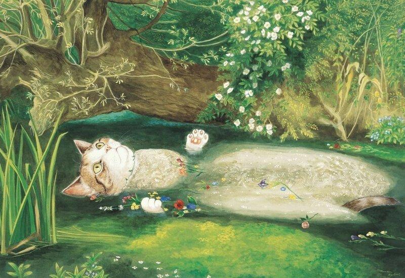 Котики и классическая живопись (63фото)