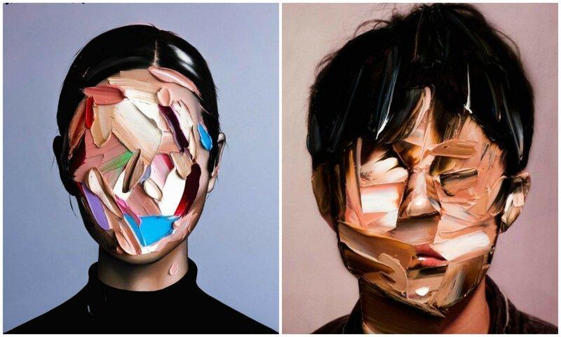 Парень-самоучка нестандартно рисует эмоции людей (30фото)