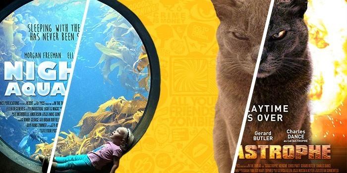 Мастер фотошопа превращает случайные фото в постеры к фильмам (33фото)