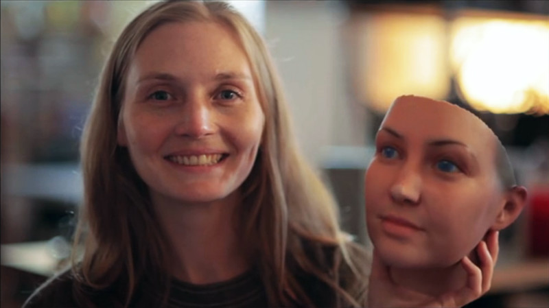 Реалистичные маски на основе образцов ДНК из выброшенной жевательной резинки и окурков сигарет (13фото)