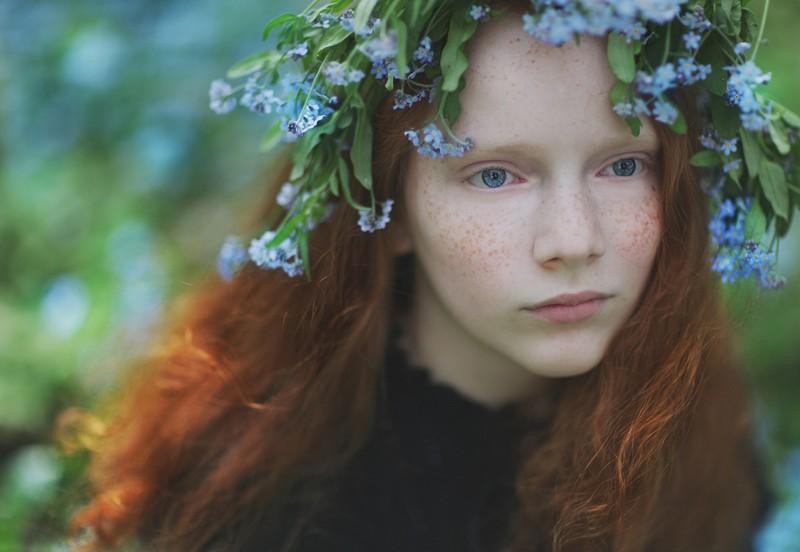 «12 месяцев её жизни» – душевный фотопроект Lena Kap (13фото)