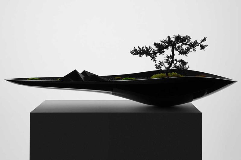 Гармония передовых технологий с древним искусством бонсай (7фото)