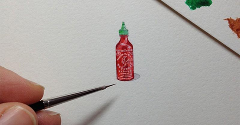 Художница рисовала по одной миниатюре ежедневно в течение года в рамках проекта (16фото)
