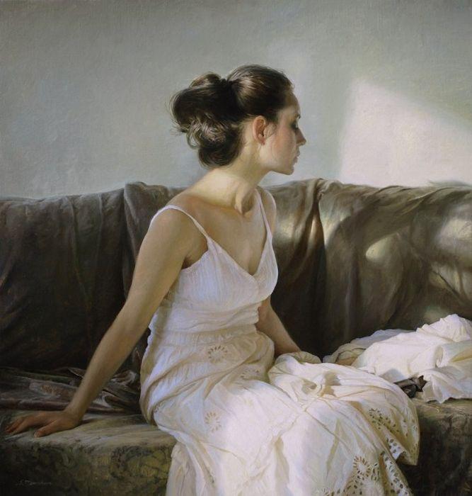 Реалистичные картины маслом от Сергея Маршенникова (13 картин)