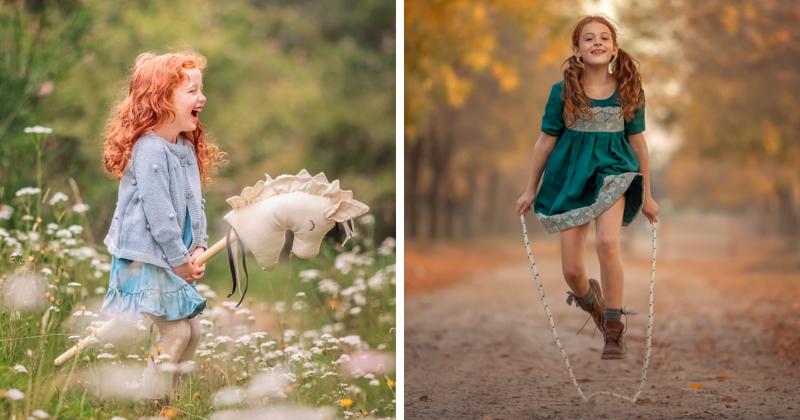 Фотограф создала сказку для дочек (47фото)