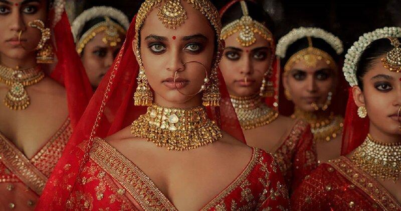 """""""Мумбайские истории"""": слияние традиционной свадебной моды Индии с современными тенденциями (62фото)"""