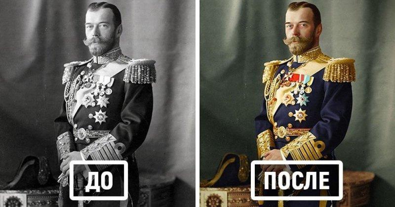 Фотограф из Австрии раскрашивает старые чёрно-белые снимки, раскрывая их с совершенно другой стороны (1фото+15тянучек)