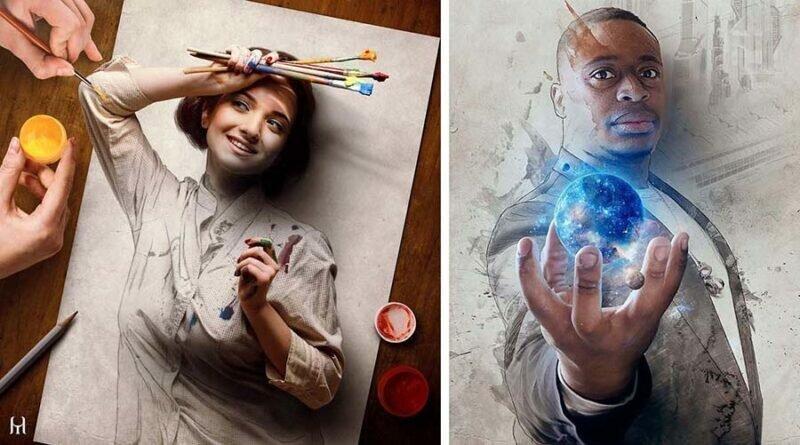 17 новых потрясающе реалистичных цифровых картин от бразильского художника Туллиуса Хейера (18фото)