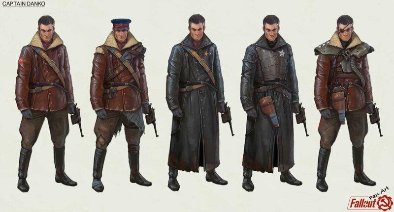 Персонажи Fallout в советском стиле (9фото)