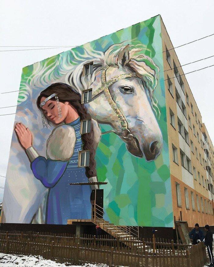 Граффити Якутии (20фото)