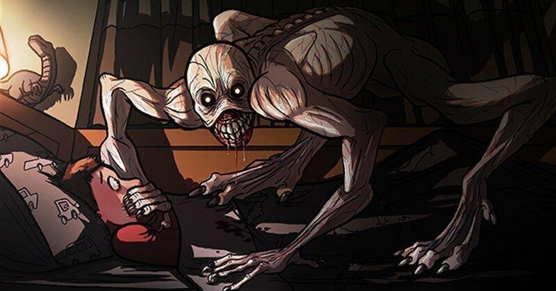 Жуткие комиксы о паранормальном, которые заставят вас почувствовать, как кровь стынет в жилах (22фото)